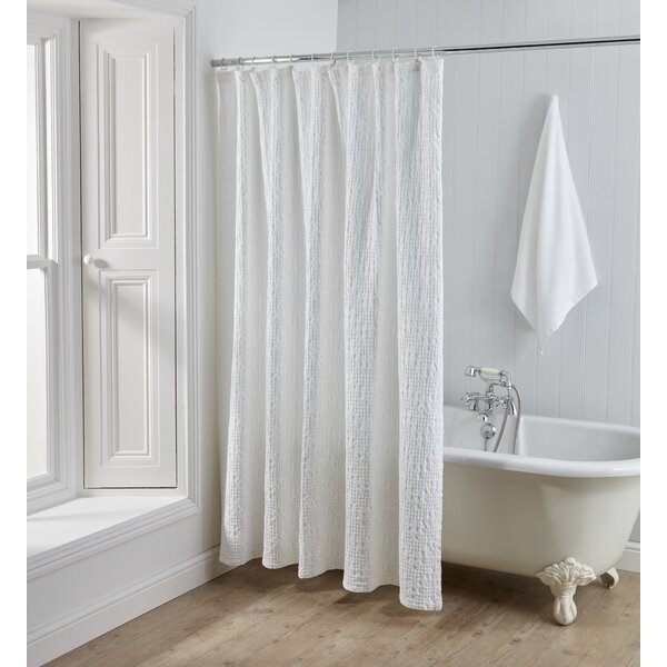 Kuester 100% Cotton Shower Curtain by Ophelia & Co